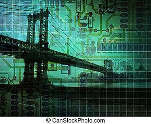 Puente electrónico