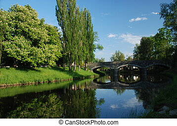 Puente en Bruselas