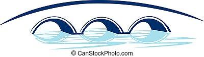 puente, logotipo