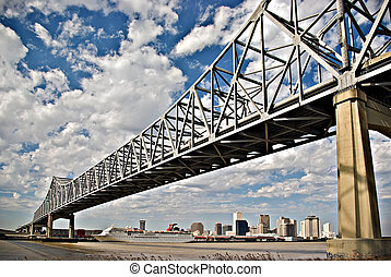 puente, río de mississippi