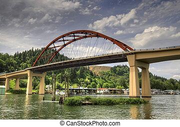 Puente Sauvie Island