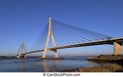 Puente sobre el río guadiana en ayamonte
