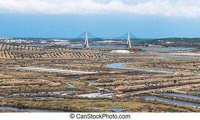 Puente sobre el río Guadiana