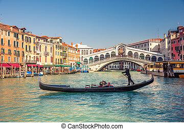 puente, venecia, rialto