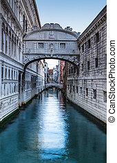puente, venecia, suspiros, ponte dei sospiri
