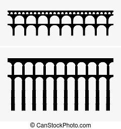 Puentes acueductos romanos