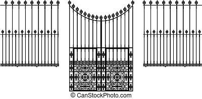Puerta y vallas