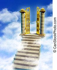 Puertas del paraíso