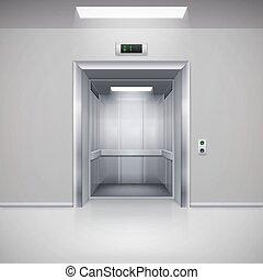 puertas, elevador