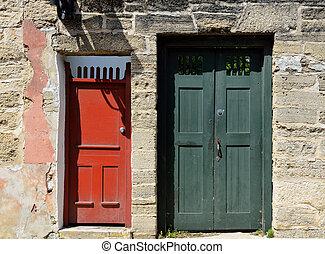 Puertas llenas de augustine