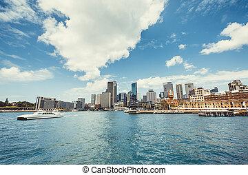 puerto de sydney, vista