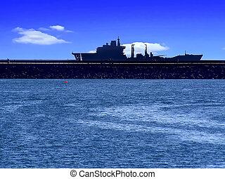 Puerto en Plymouth.