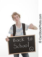 Pulgares a la escuela