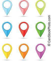 Puntas redondas de colores