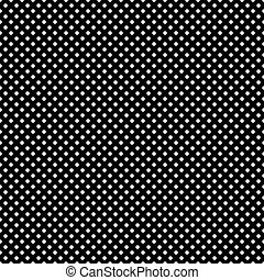 Puntos blancos inservibles en negro