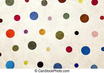 Puntos coloridos