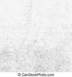 puntos, cubrir, textura, halftone, vector, sutil