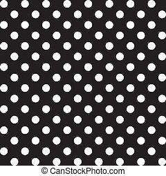Puntos de polca grandes, patrón sin marcas