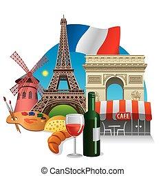 Puntos de referencia de Francia
