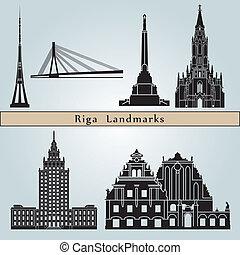 Puntos de referencia Riga
