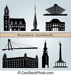 Puntos de referencia y monumentos de Bratislava