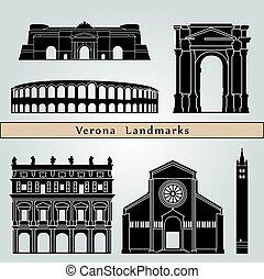 Puntos de referencia y monumentos de Verona