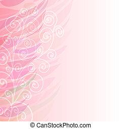 Puro patrón de fondo floral rosa