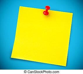 Puso amarillo en la pared