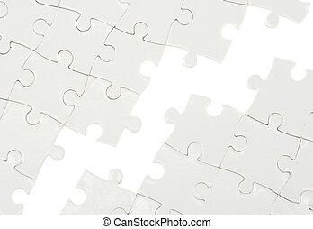Puzzle con pieza faltante