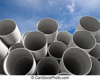 pvc, tubos