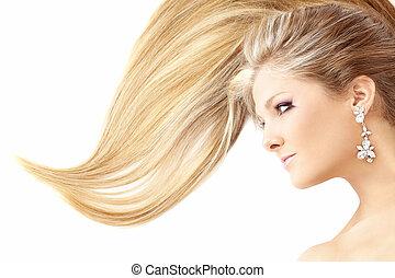 Qué hermoso peinado