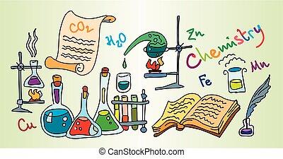 química, laboratorio