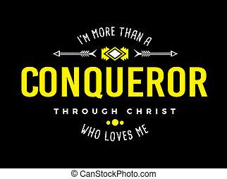 que, más, conquistador