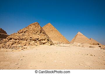 Queen piramide menkaure khafre cheops