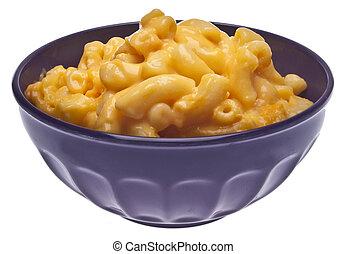 queso, macarrones