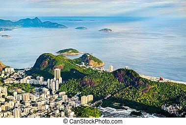 río, de, brasil, janeiro, cityscape