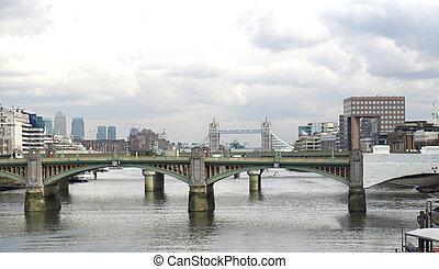 río, londres, thames