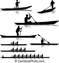 río, vario, rowers