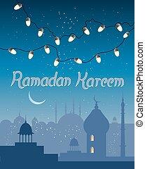 Ramadán abstracto