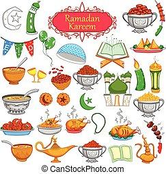 Ramadan kareem diseño objeto
