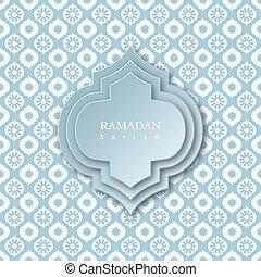 Ramadan kareem fondo.