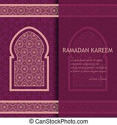 Ramadan kareem fondo