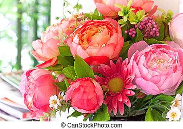 ramo, flores