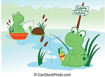 rana de laguna