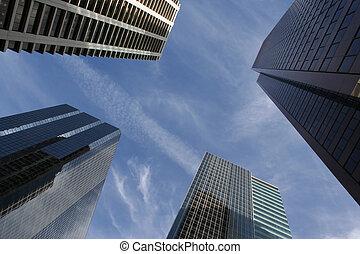 Rascacielos abstractos