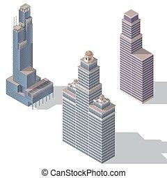 Rascacielos set 2