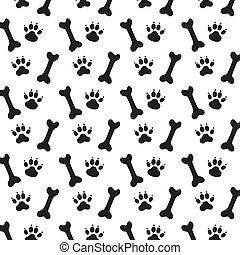 Rastros de perro.