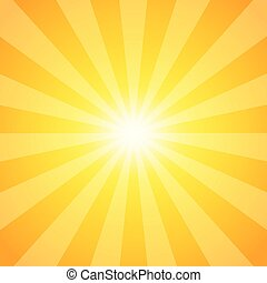 Rayas de sol, fondo abstracto