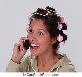 Reacción al teléfono