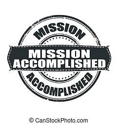 realizado, misión